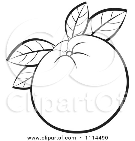Lemon wedge coloring pages