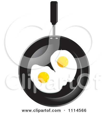 Two Eggs In A Frying Pan Posters, Art Prints