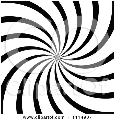 Clipart Black And White Swirl Background 2 - Royalty Free Vector Illustration by dero
