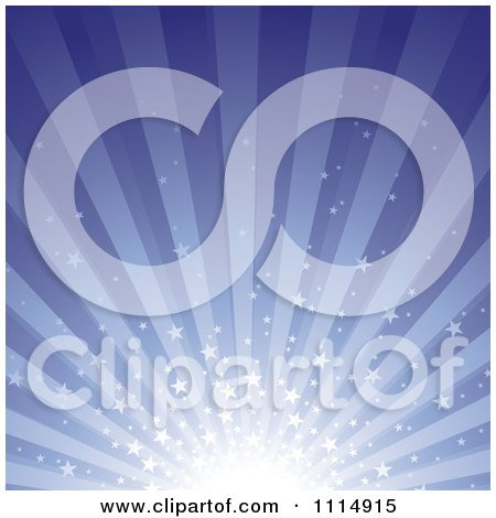 Clipart Star Burst Background 1 - Royalty Free Vector Illustration by dero