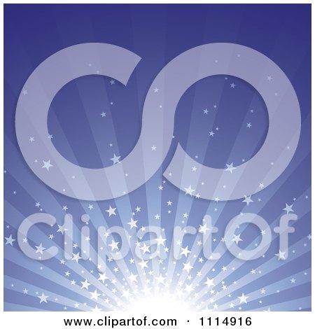 Clipart Star Burst Background 2 - Royalty Free Vector Illustration by dero
