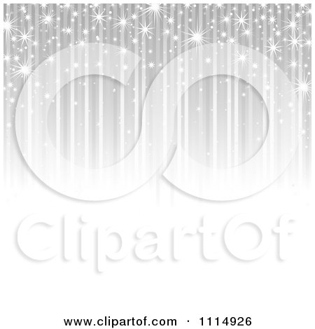 Clipart Background Of Sparkles And Silver Streaks - Royalty Free Vector Illustration by dero