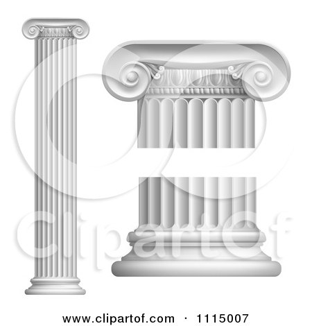 Free Vector Image Software on Or Roman Columns   Royalty Free Vector Illustration By Geo Images