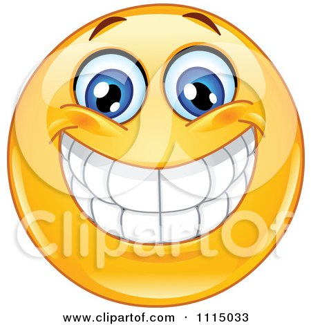 Royalty-Free (RF) Clipart Illustration of Yellow Smiley ...