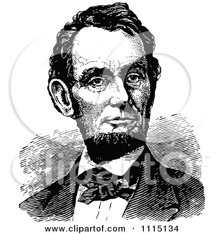 Royalty-Free (RF) Abraham Lincoln Clipart, Illustrations, Vector ...