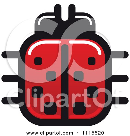 Clipart Spotted Ladybug Beetle 3 - Royalty Free Vector Illustration by Vector Tradition SM