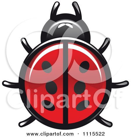 Clipart Spotted Ladybug Beetle 1 - Royalty Free Vector Illustration by Vector Tradition SM