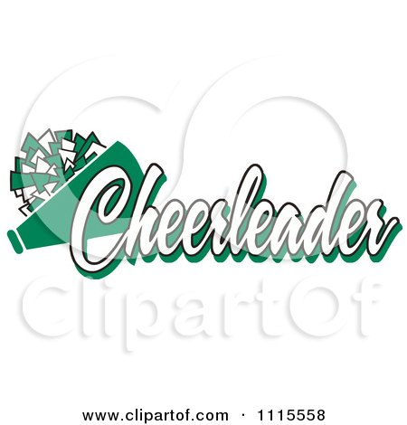 Cartoon of a Zebra Print CHEER - Royalty Free Vector Clipart by ...