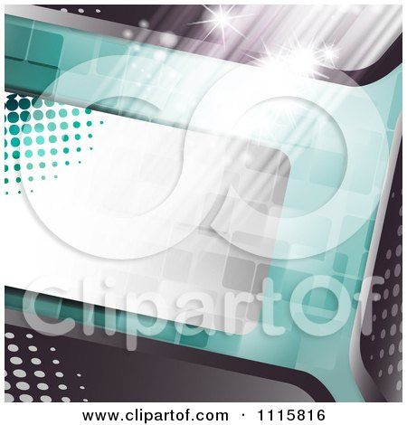 Clipart Film Frame Background With Tiles And Light - Royalty Free Vector Illustration by merlinul