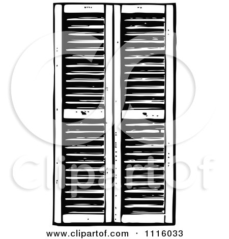 retro vintage black and white window shutters 1 posters Restaurant Food Clip Art Free free printable food clip art