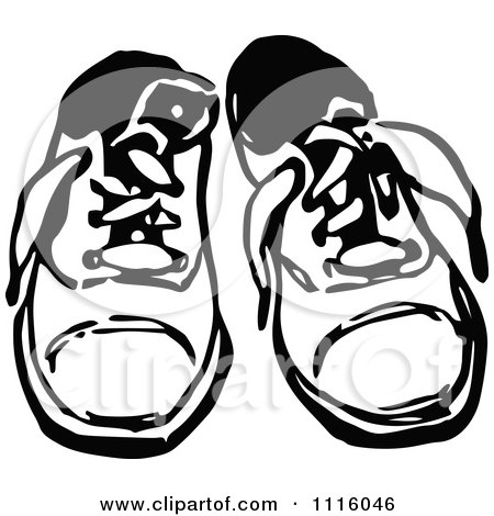royaltyfree rf clipart of childs shoes illustrations