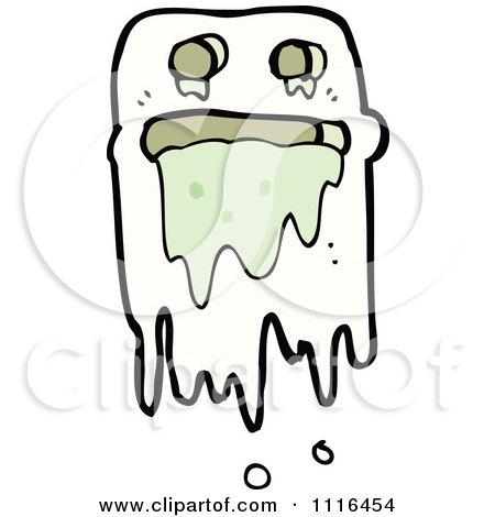 Clipart Halloween Haunt Spook Ghost 8 - Royalty Free Vector Illustration by lineartestpilot