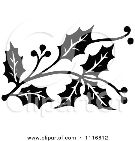 Clipart Vintage Christmas Sign With Ornate Elements ...