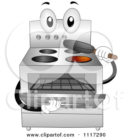 Stainless Steel Oven Range Inserting A Pan Posters, Art Prints