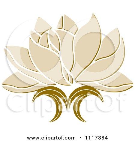 Beige lotus flower posters art prints by lal perera interior wall beige lotus flower posters art prints mightylinksfo