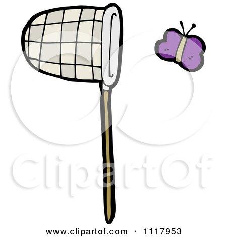 Butterfly Net Clip Art
