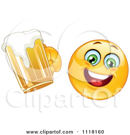 Royalty Free Rf Clipart Illustration Of A Happy Emoticon