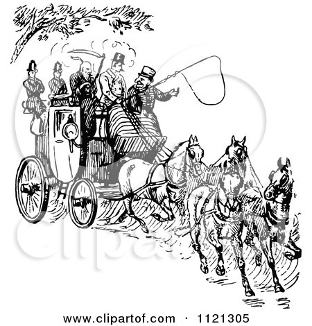 Royalty-Free (RF) Clipart of Horse Drawn Carriages, Illustrations ...