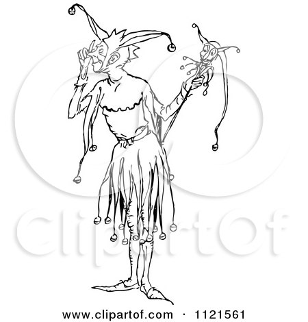 Royalty-Free (RF) Court Jester Clipart, Illustrations, Vector ...