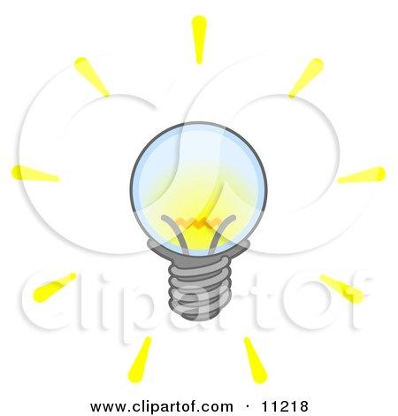 Bright Electric Light Bulb Posters, Art Prints