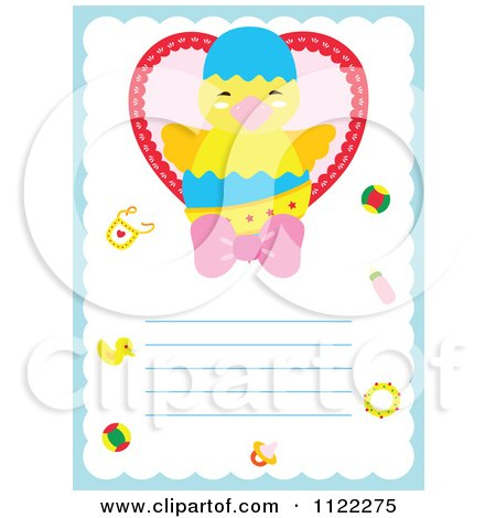 Baby Girl Picture Frame on Royalty Free  Rf  Its A Girl Clipart  Illustrations  Vector Graphics