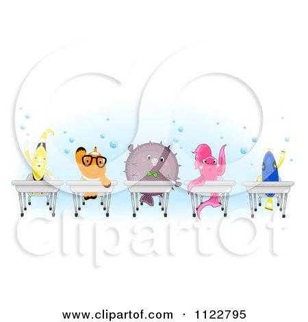 Royalty Free Rf Clipart Of Betta Splendens