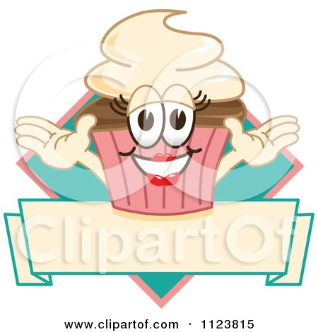 Happy Cupcake Logo 3 Posters, Art Prints