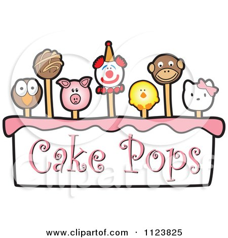 Preview Clipart Cake Pops