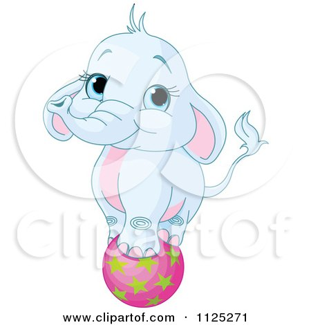 Royalty Free Rf Clipart Illustration Of A Cute Party