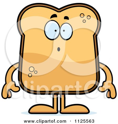 cartoon of a surprised toast mascot royalty free vector clipart by rh clipartof com toaster clipart black and white toaster clip art
