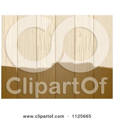 Varnish Wood Stain On Wood Panels