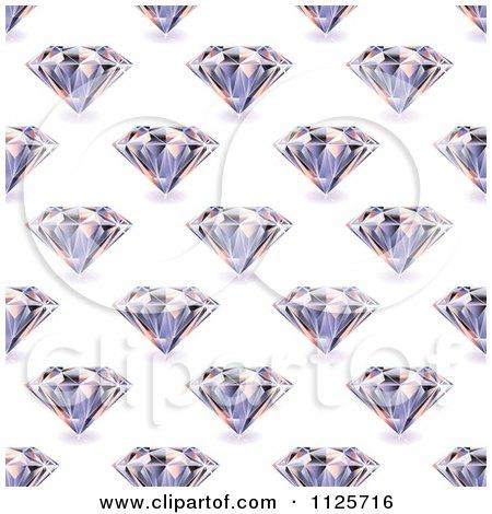 Clipart 3d Sparkly Diamond Royalty Free Vector
