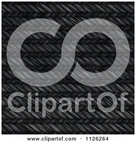 Clipart Of A Seamless Black Jean Texture Background Pattern 2 - Royalty Free CGI Illustration by Ralf61