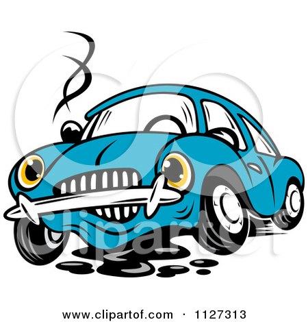 Royalty Free Rf Broken Down Car Clipart Illustrations
