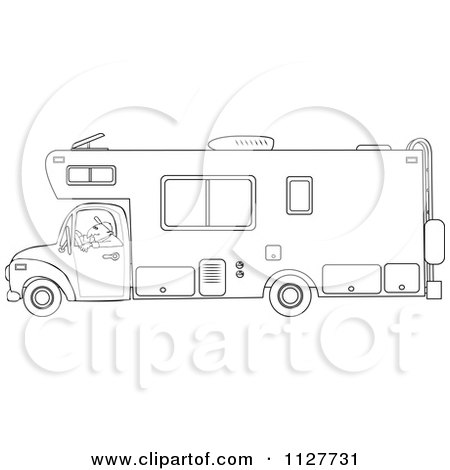 Inside Trailer Homes Coloring Pages
