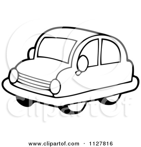 cartoon of an outlined toy car royalty free vector clipart by rh clipartof com Car Detailing Clip Art Car Detailing Clip Art