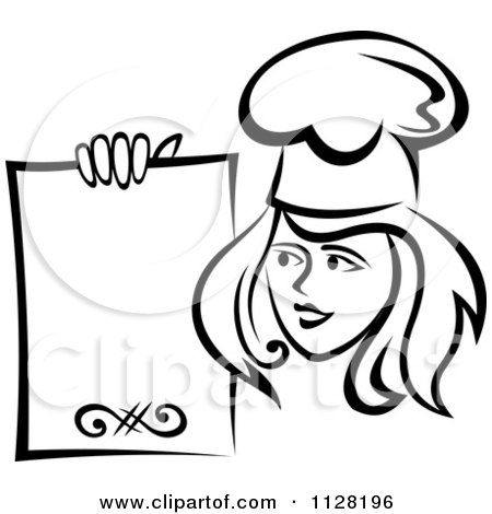 Royalty-Free (RF) Female Chef Clipart, Illustrations, Vector ...