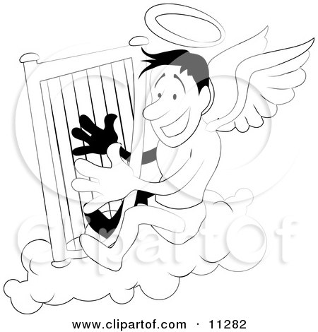 https://images.clipartof.com/small/11282-Angel-With-A-Halo-Playing-A-Harp-Clipart-Illustration.jpg