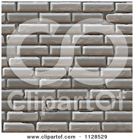 . Clipart Of A Seamless Cobble Stone Brick Texture Background Pattern