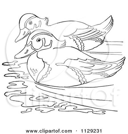 Royalty Free Rf Duck Clipart Illustrations Vector