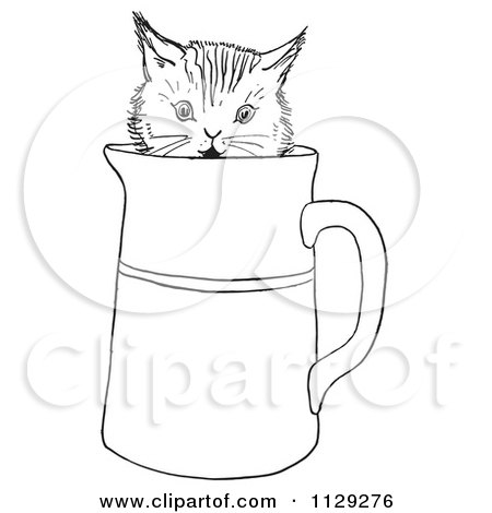 coloring pages pitcher of water - photo#17