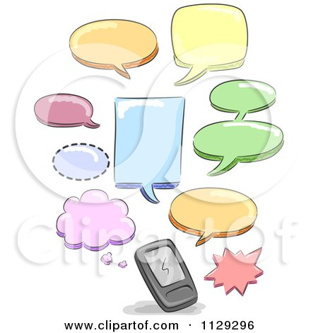 Text Message Cell Phone Clip Art – Cliparts