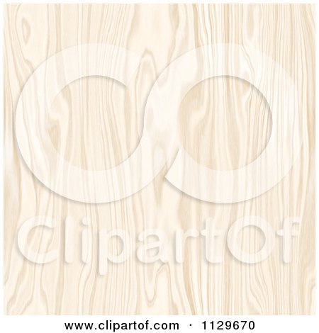 Clipart Of A Seamless Light Colored Wood Pattern - Royalty Free CGI Illustration by Arena Creative