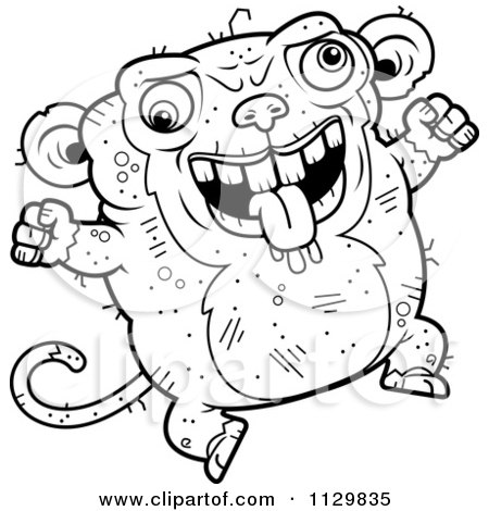 Royalty-Free (RF) Ugly Animal Clipart, Illustrations ...