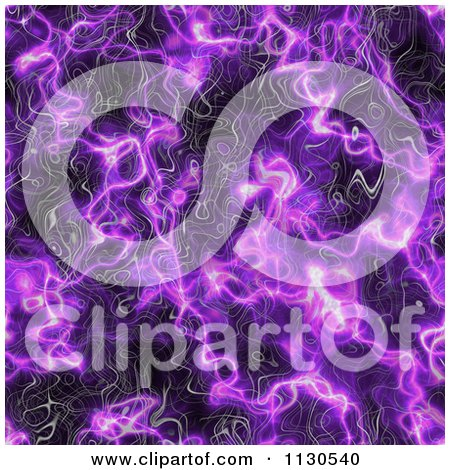 Clipart Of A Seamless Purple Alien Electrical Storm Texture Background Pattern 8 - Royalty Free CGI Illustration by Ralf61