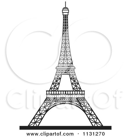 Eiffel Tower Black And White Background Black And White Eiffel Tower 1