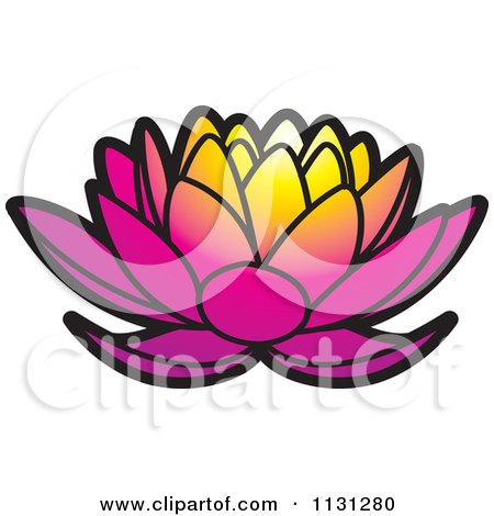 Royalty-Free (RF) Lotus Flower Clipart, Illustrations, Vector ...