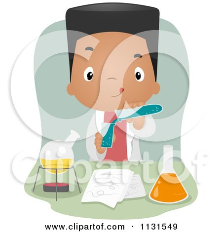 Royalty Free Rf Clipart Of Laboratory Apparatus