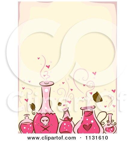 Love Spell Potion Clip Art