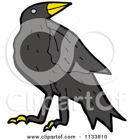 Cartoons Birds Images Cartoon of a Raven Crow Bird 1